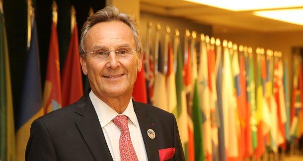 Dr. Patrick Hescot FDI President Oral Health