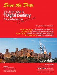 CAD/CAM 2018 - Dubai
