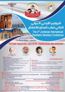 The 2nd Jordanian International Paediatric Dentistry Conference
