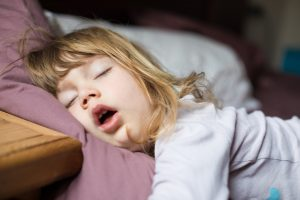 child sleeping dental news
