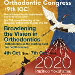 9th international orthodontic congress ioc Japan