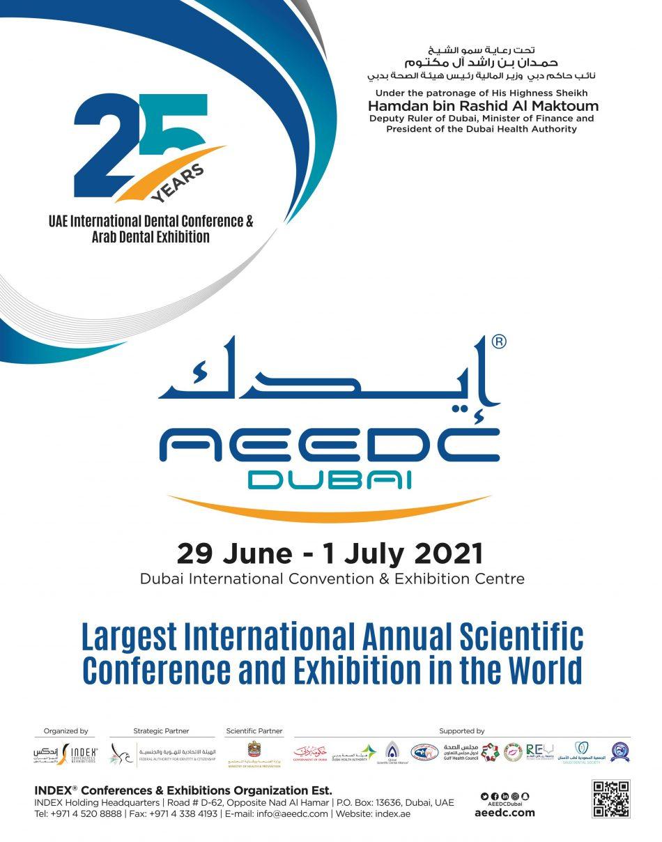 AEEDC 2021 Dubai UAE Dental Exhibition Conference