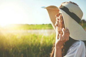 vitamin d sun rays smile