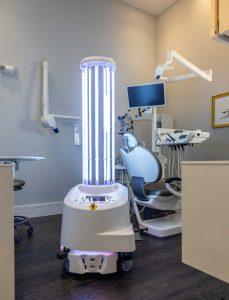 Boston Dental Clinic Deploys Autonomous UVD Robots to Eradicate Covid-19 Virus