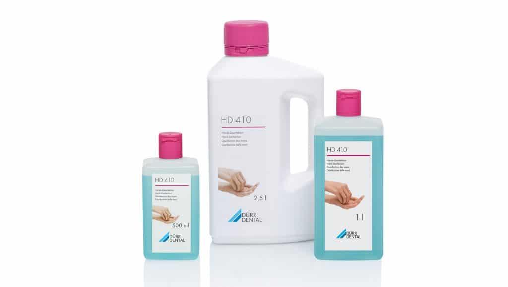 hand product disinfectant disinfection skin dental DÜRR HD hygiene