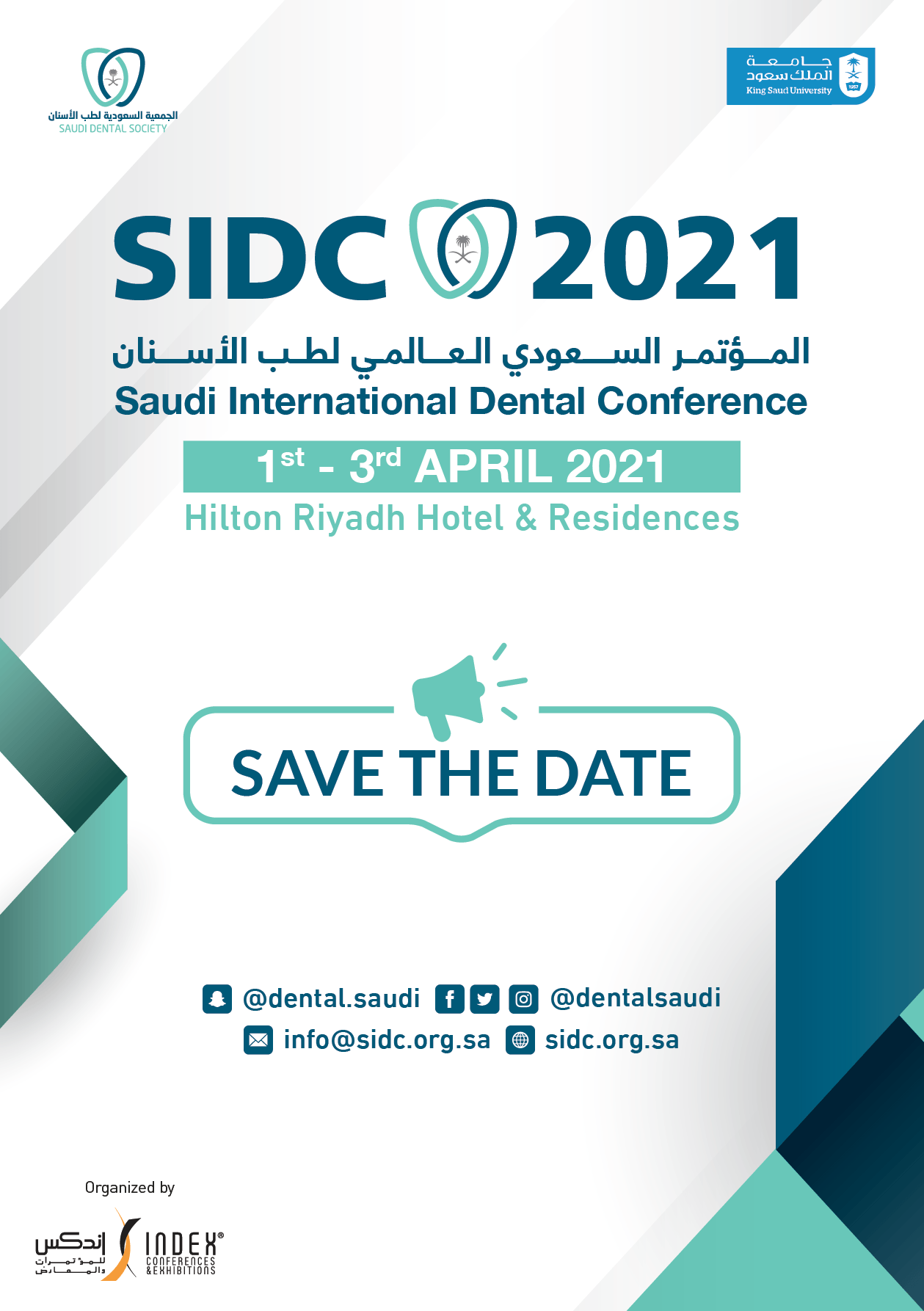SIDC 2021 - Saudi Arabia Dental Conference