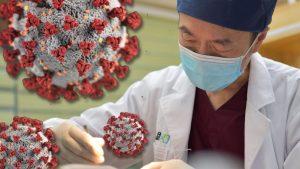 Coronavirus patient aerosol covid-19